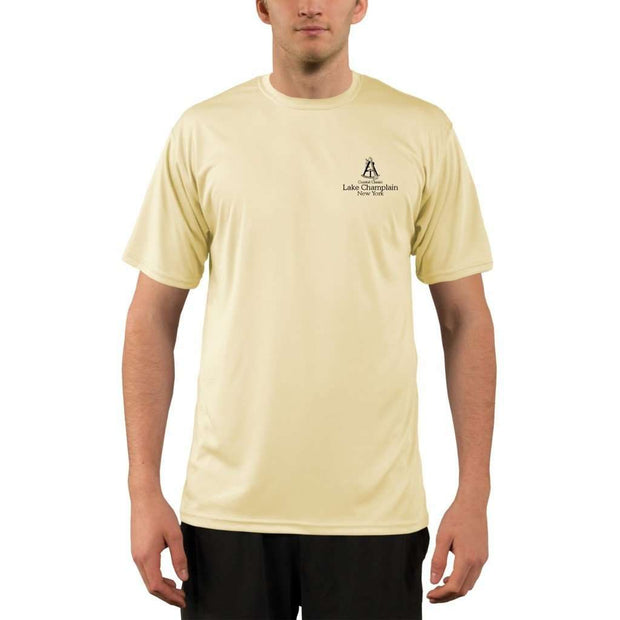 Coastal Classics Lake Champlain Mens Upf 5+ Uv/sun Protection Performance T-Shirt Shirt