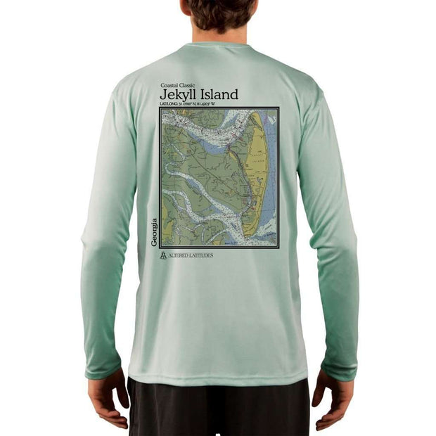 Coastal Classics Jekyll Island Mens Upf 5+ Uv/sun Protection Performance T-Shirt Seagrass / X-Small Shirt