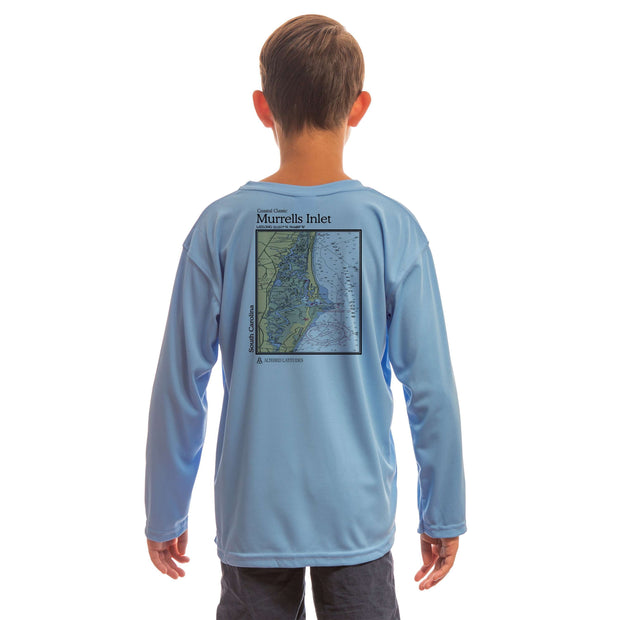 Coastal Classics Murrells Inlet Youth UPF 50+ UV/Sun Protection Long Sleeve T-Shirt - Altered Latitudes