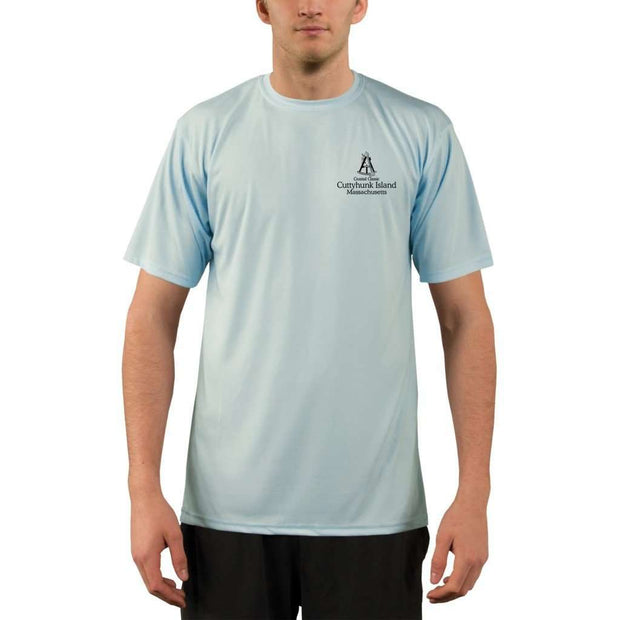 Coastal Classics Cuttyhunk Island Mens Upf 5+ Uv/sun Protection Performance T-Shirt Shirt