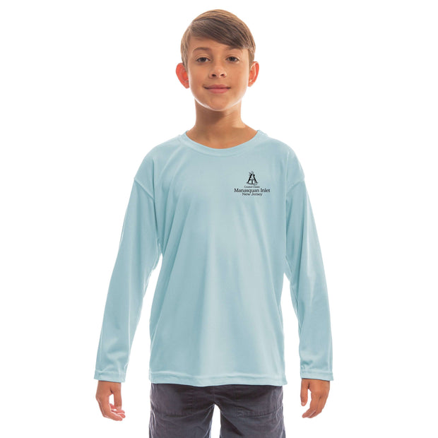 Coastal Classics Manasquan Inlet Youth UPF 50+ UV/Sun Protection Long Sleeve T-Shirt