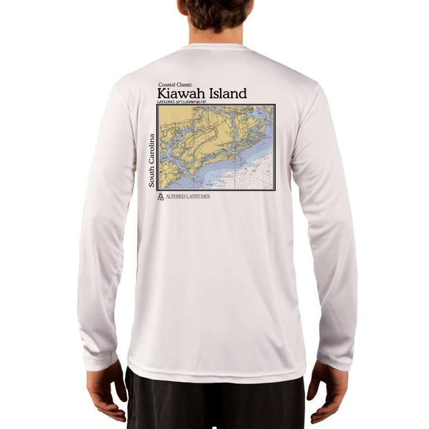 Coastal Classics Kiawah Island Men's UPF 50+ UV/Sun Protection Performance T-shirt - Altered Latitudes