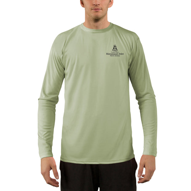 Coastal Classics Manasquan Inlet Men's UPF 50+ UV/Sun Protection Performance T-shirt