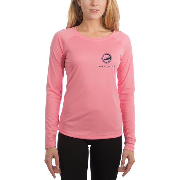 Compass Vintage Key Biscayne Women's UPF 50+ Long Sleeve T-shirt