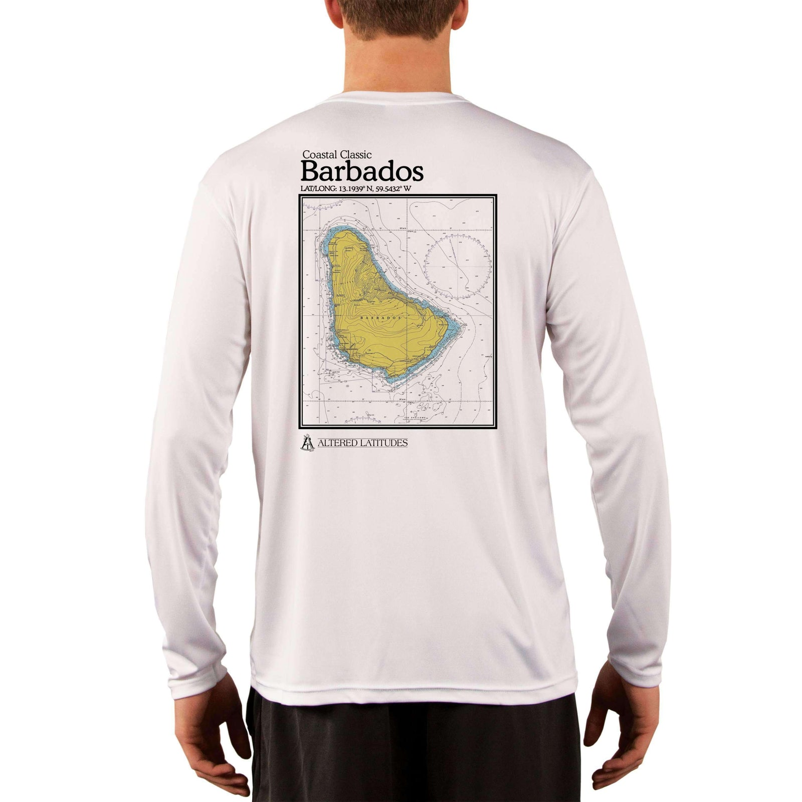 Coastal Classics Barbados Men's UPF 5+ Long Sleeve T-Shirt - Altered Latitudes