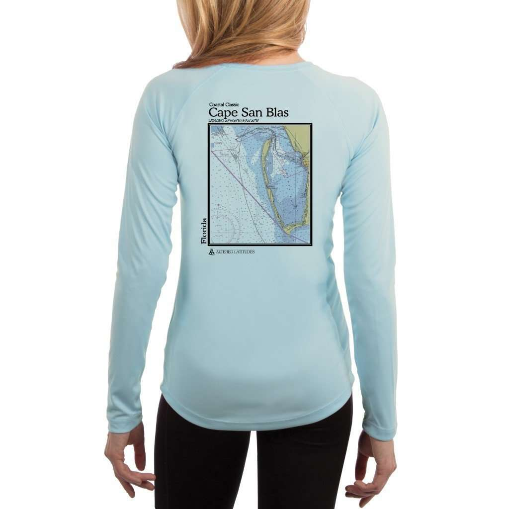 Coastal Classics Cape San Blas Women's UPF 50+ UV/Sun Protection Performance T-shirt
