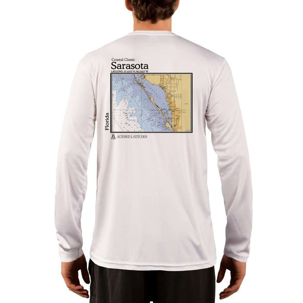 Coastal Classics Sarasota Mens Upf 5+ Uv/sun Protection Performance T-Shirt White / X-Small Shirt