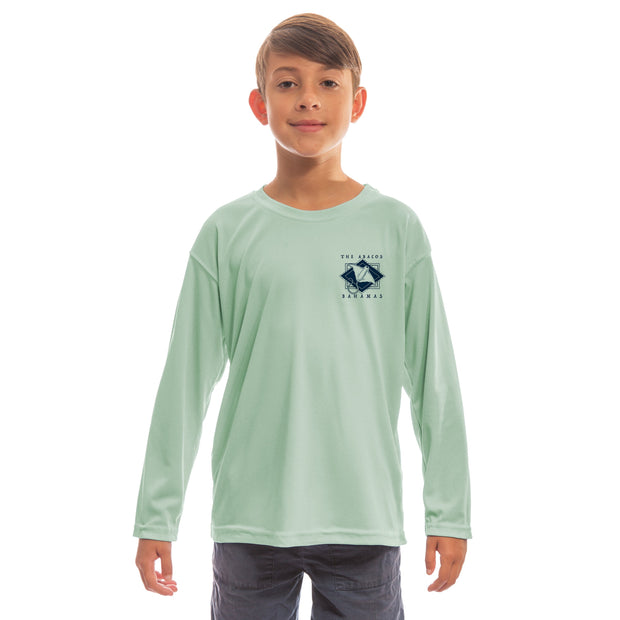 Coastal Quads The Abacos Youth UPF 50+ UV/Sun Protection Long Sleeve T-Shirt