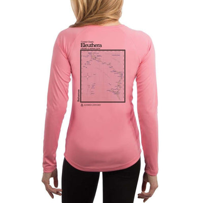 Coastal Classics Eleuthera Womens Upf 5+ Uv/sun Protection Performance T-Shirt Pretty Pink / X-Small Shirt