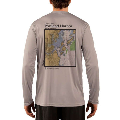 Coastal Classics Portland Harbor Men's UPF 50+ UV/Sun Protection Performance T-shirt