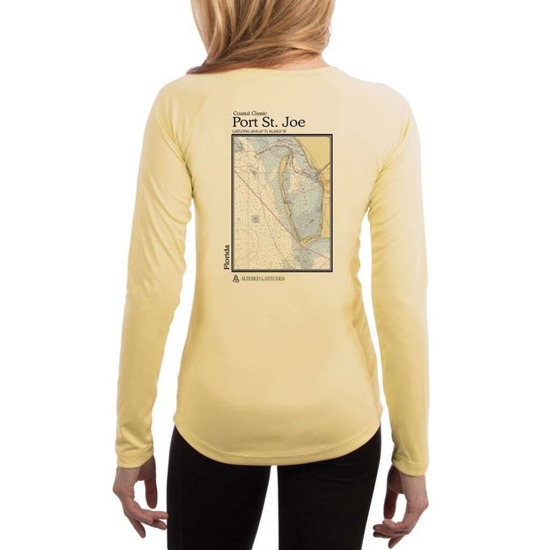 Coastal Classics Port St. Joe Womens Upf 5+ Uv/sun Protection Performance T-Shirt Pale Yellow / X-Small Shirt