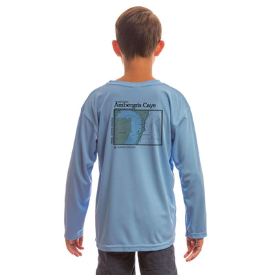 Coastal Classics Ambergris Caye Youth UPF 5+ UV/Sun Protection Long Sleeve T-Shirt - Altered Latitudes