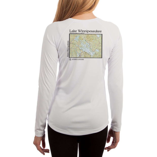 Coastal Classics Lake Winnipesaukee Women's UPF 50+ Long Sleeve T-shirt - Altered Latitudes