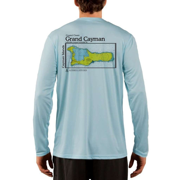 Coastal Classics Grand Cayman Mens Upf 5+ Uv/sun Protection Performance T-Shirt Arctic Blue / X-Small Shirt