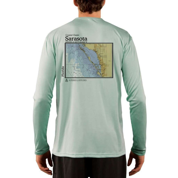 Coastal Classics Sarasota Mens Upf 5+ Uv/sun Protection Performance T-Shirt Seagrass / X-Small Shirt