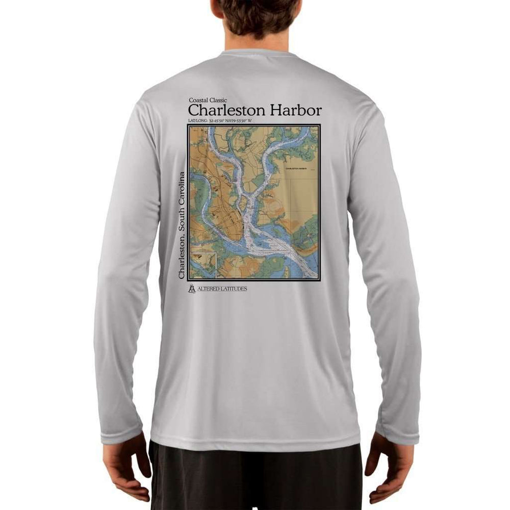 Coastal Classics Charleston Men's UPF 50+ UV/Sun Protection Performance T-shirt - Altered Latitudes