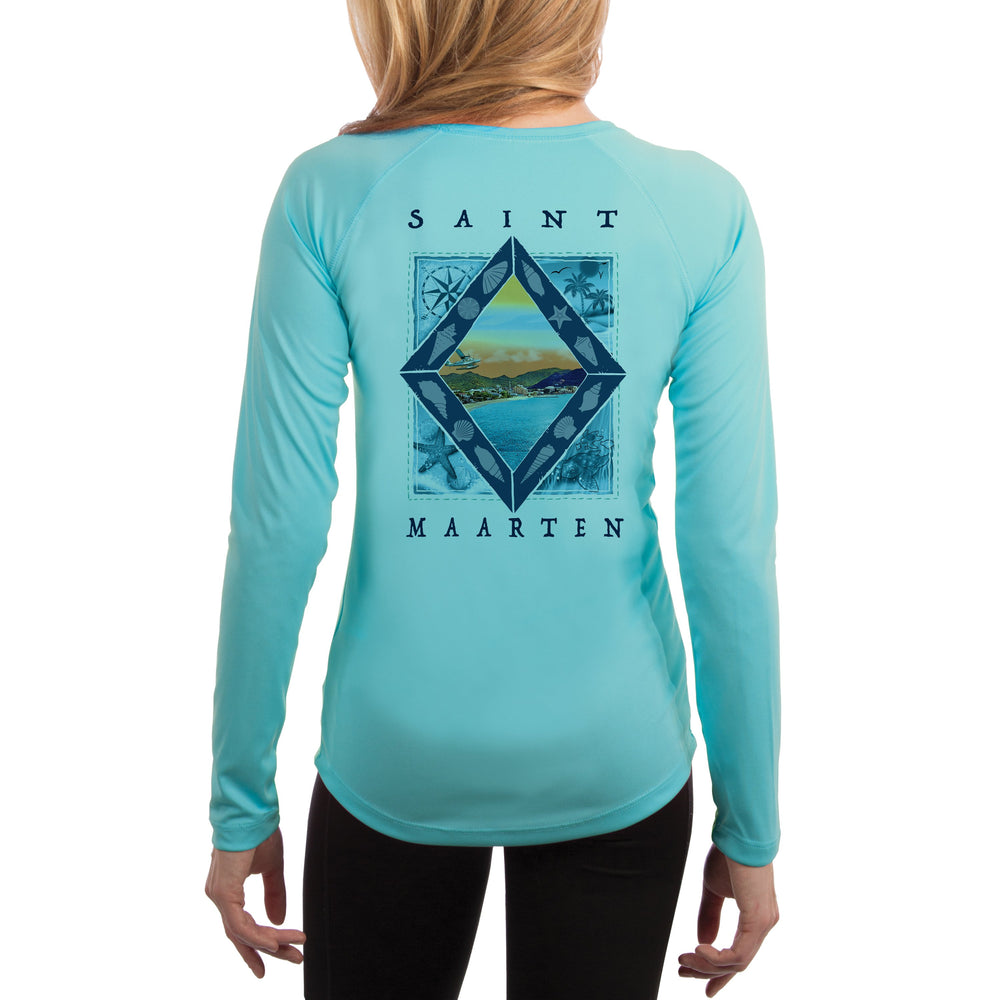 Coastal Quads Saint Maarten Women's UPF 50+ Long Sleeve T-shirt