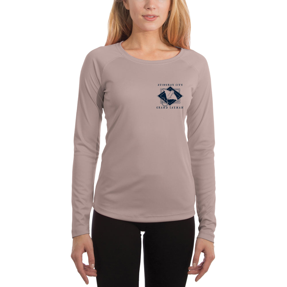Coastal Quads Grand Cayman Women's UPF 50+ Long Sleeve T-shirt