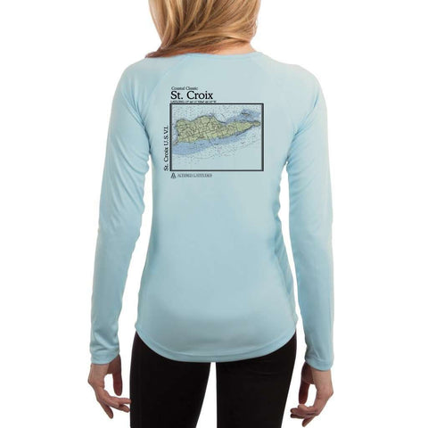 Coastal Classics Freeport Women's UPF 50+ UV/Sun Protection Performance T-shirt