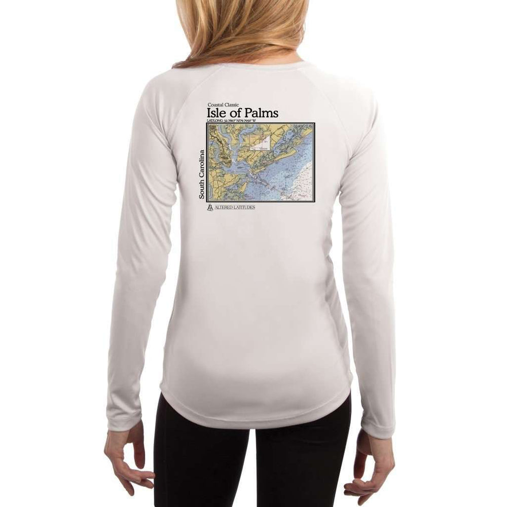 Coastal Classics Isle Of Palms Womens Upf 5+ Uv/sun Protection Performance T-Shirt White / X-Small Shirt