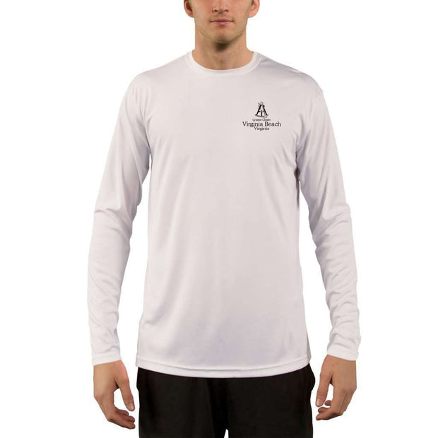 Coastal Classics Virginia Beach Men's UPF 50+ UV/Sun Protection Performance T-shirt - Altered Latitudes