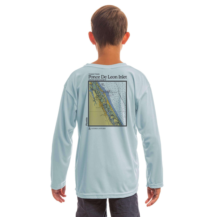Coastal Classics Ponce de Leon Inlet Youth UPF 50+ UV/Sun Protection Long Sleeve T-Shirt