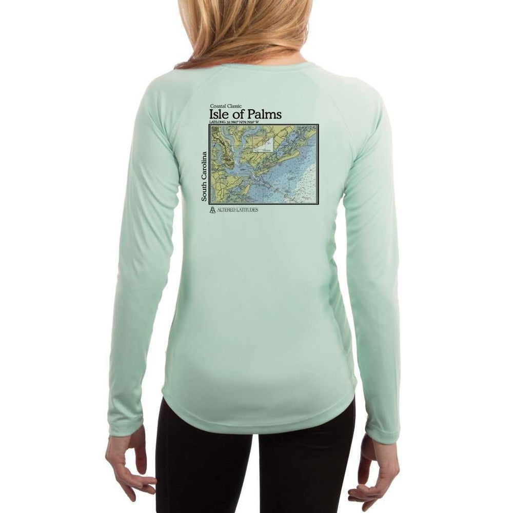 Coastal Classics Isle Of Palms Womens Upf 5+ Uv/sun Protection Performance T-Shirt Seagrass / X-Small Shirt