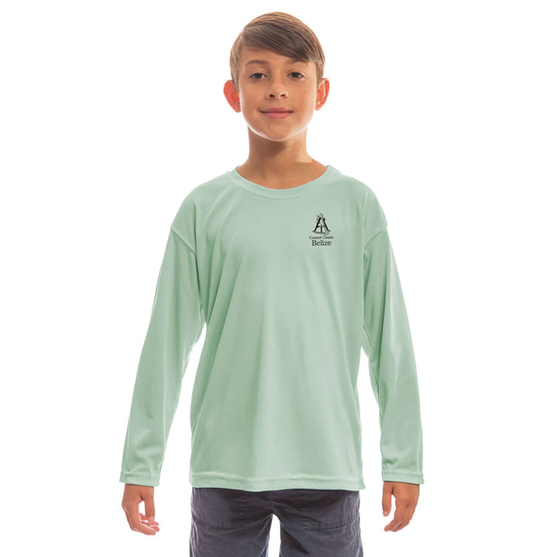 Coastal Classics Belize Youth UPF 50+ UV/Sun Protection Long Sleeve T-Shirt - Altered Latitudes