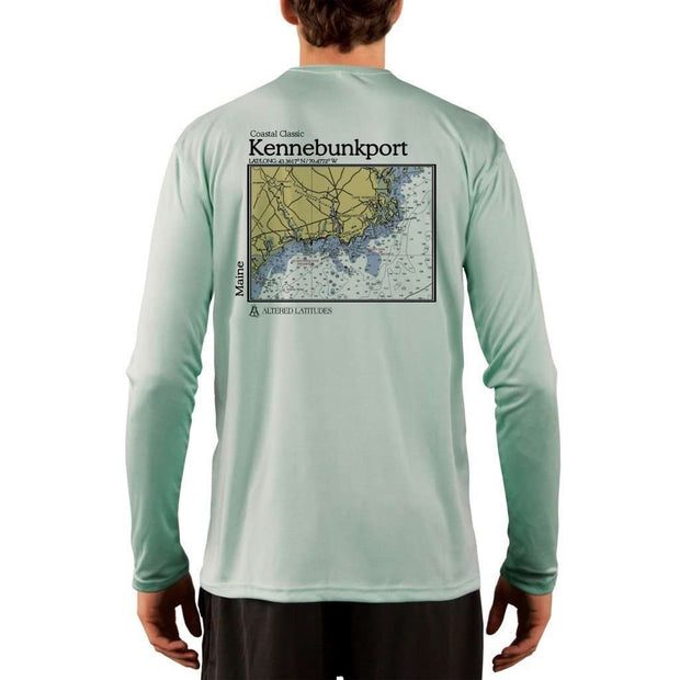 Coastal Classics Kennebunkport Men's UPF 50+ UV/Sun Protection Performance T-shirt
