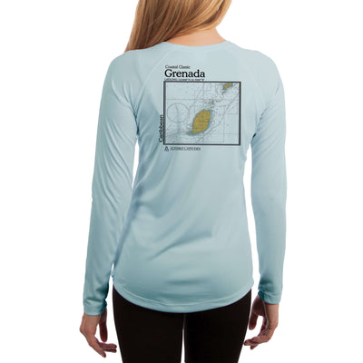 Coastal Classics Grenada Women's UPF 50+ Long Sleeve T-shirt - Altered Latitudes