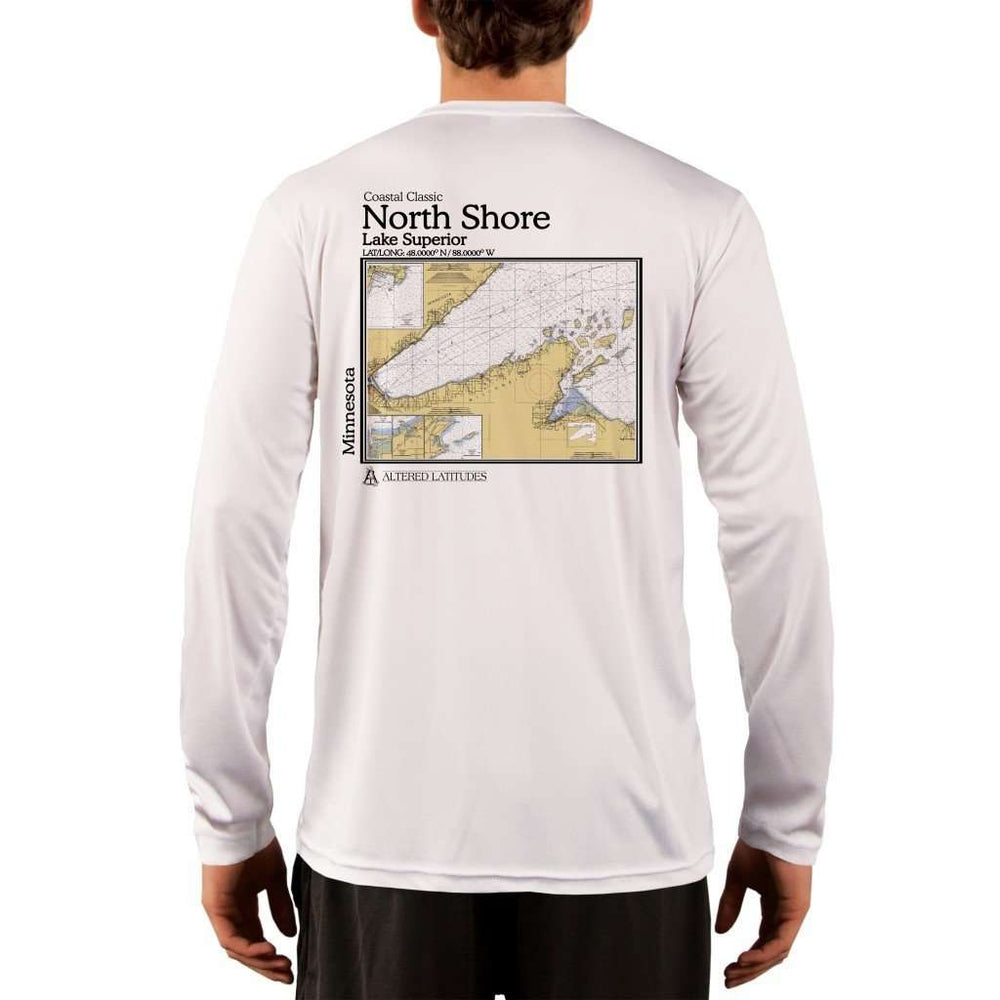 Coastal Classics North Shore Mens Upf 5+ Uv/sun Protection Performance T-Shirt White / X-Small Shirt