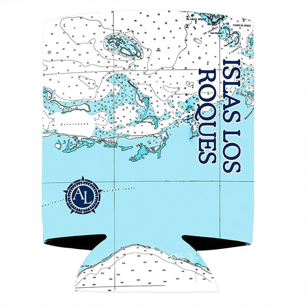 Altered Latitudes Los Roques Chart Standard Can Cooler (4-Pack)