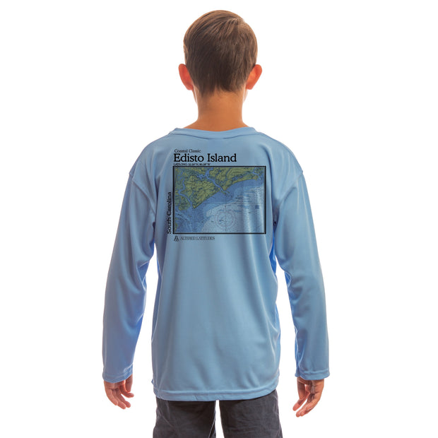 Coastal Classics Edisto Island Youth UPF 50+ UV/Sun Protection Long Sleeve T-Shirt
