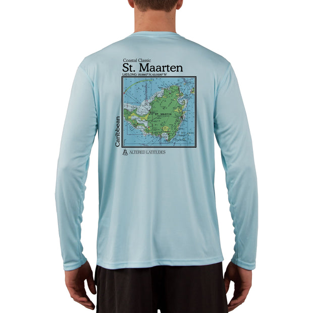 Coastal Classics St. Maarten Men's UPF 50+ Long Sleeve T-Shirt