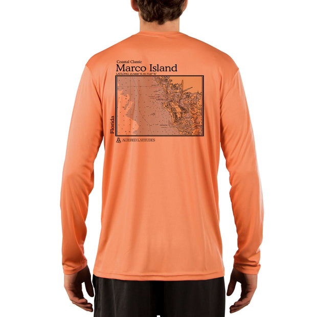 Coastal Classics Marco Island Men's UPF 50+ UV/Sun Protection Performance T-shirt