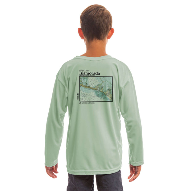 Coastal Classics Islamorada Youth UPF 50+ UV/Sun Protection Long Sleeve T-Shirt - Altered Latitudes