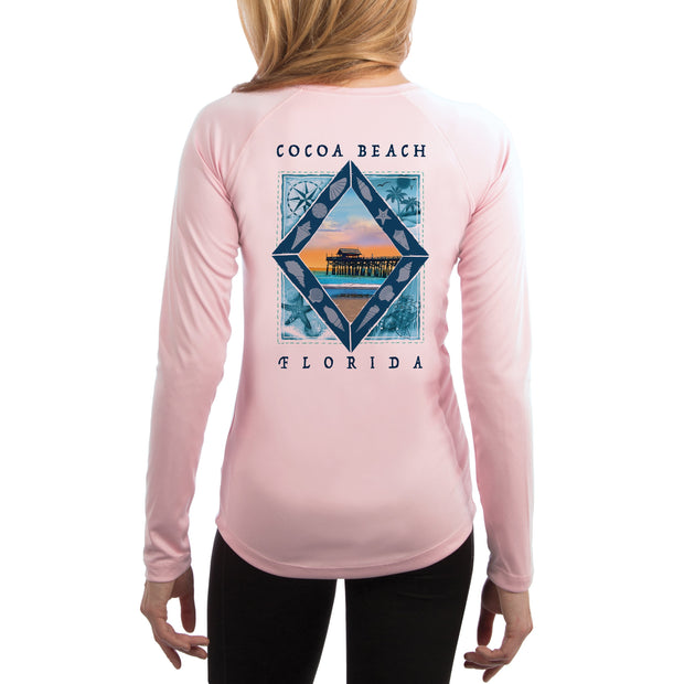 Coastal Quads Cocoa Beach Women's UPF 50+ Long Sleeve T-shirt