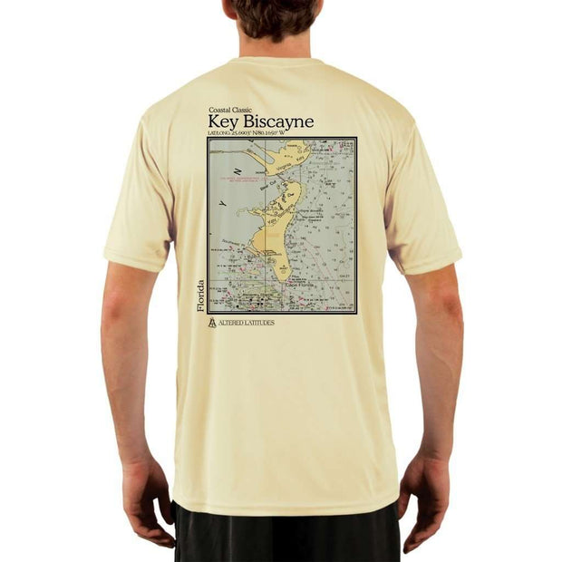 Coastal Classics Key Biscayne Mens Upf 5+ Uv/sun Protection Performance T-Shirt Pale Yellow / X-Small Shirt