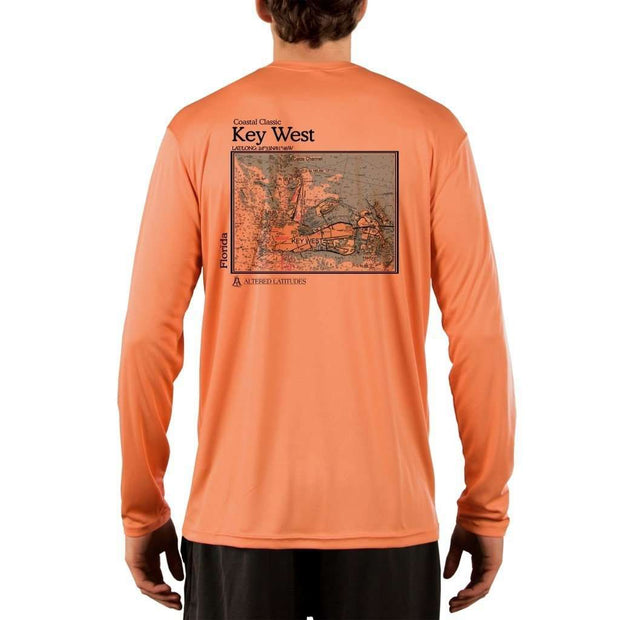 Coastal Classics Key West Men's UPF 50+ UV/Sun Protection Performance T-shirt - Altered Latitudes