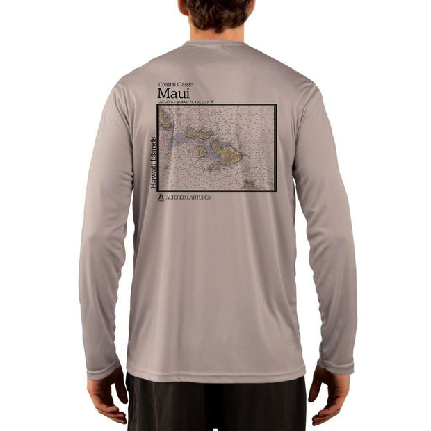 Coastal Classics Maui Mens Upf 5+ Uv/sun Protection Performance T-Shirt Athletic Grey / X-Small Shirt