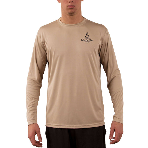 Coastal Classics Lake St Clair Men's UPF 50+ Long Sleeve T-Shirt - Altered Latitudes