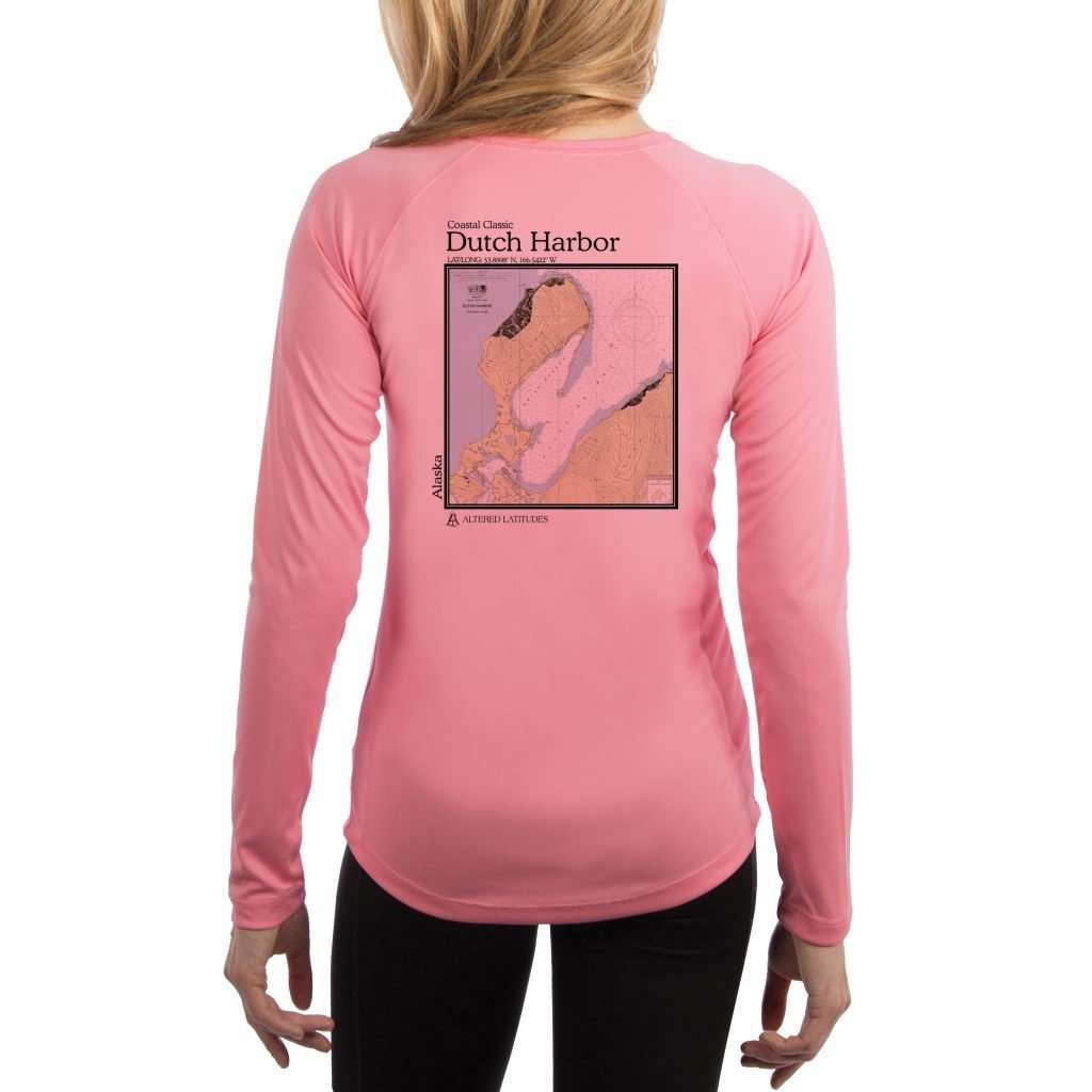 Coastal Classics Dutch Harbor Womens Upf 50+ Uv/sun Protection Performance T-Shirt Pretty Pink / X-Small Shirt