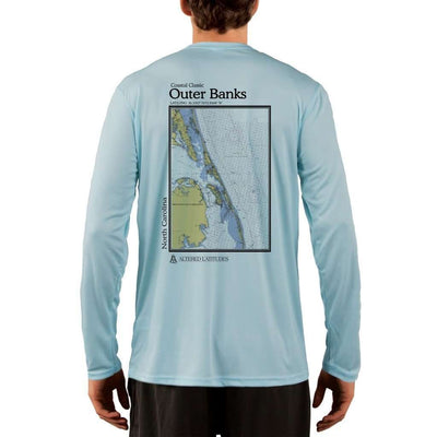 Coastal Classics Outer Banks Men's UPF 50+ UV/Sun Protection Performance T-shirt