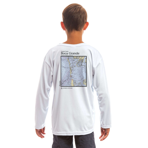 Coastal Classics Boca Grande Youth UPF 50+ UV/Sun Protection Long Sleeve T-Shirt