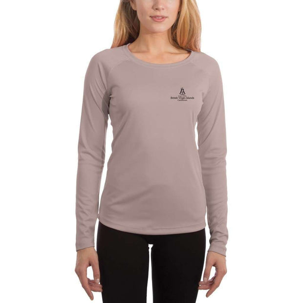 Coastal Classics British Virgin Islands Women's UPF 50+ UV/Sun Protection Performance T-shirt - Altered Latitudes