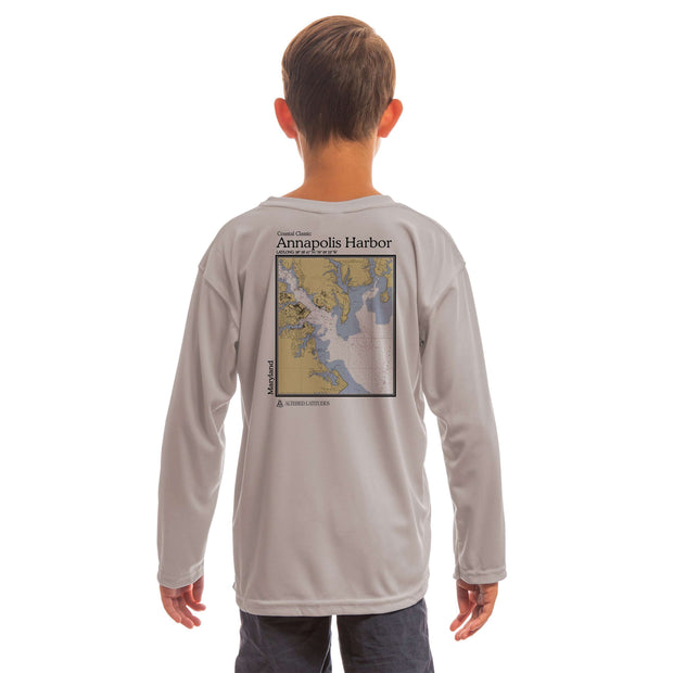 Coastal Classics Annapolis Harbor Youth UPF 5+ UV/Sun Protection Long Sleeve T-Shirt - Altered Latitudes