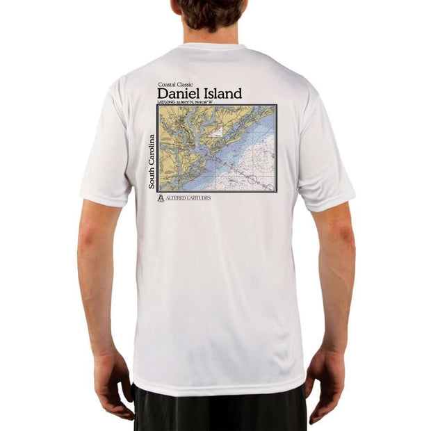 Coastal Classics Daniel Island Mens Upf 5+ Uv/sun Protection Performance T-Shirt White / X-Small Shirt