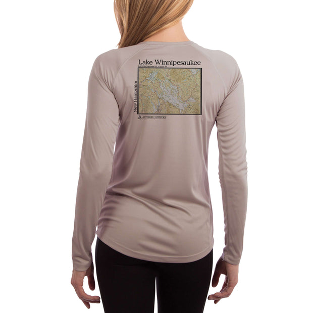 Coastal Classics Lake Winnipesaukee Women's UPF 50+ Long Sleeve T-shirt
