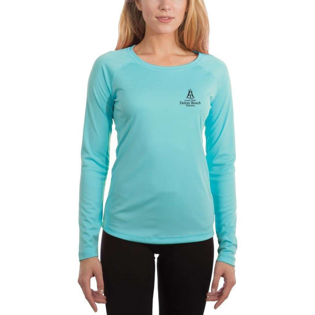 Coastal Classics Delray Beach Women's UPF 50+ UV/Sun Protection Performance T-shirt - Altered Latitudes