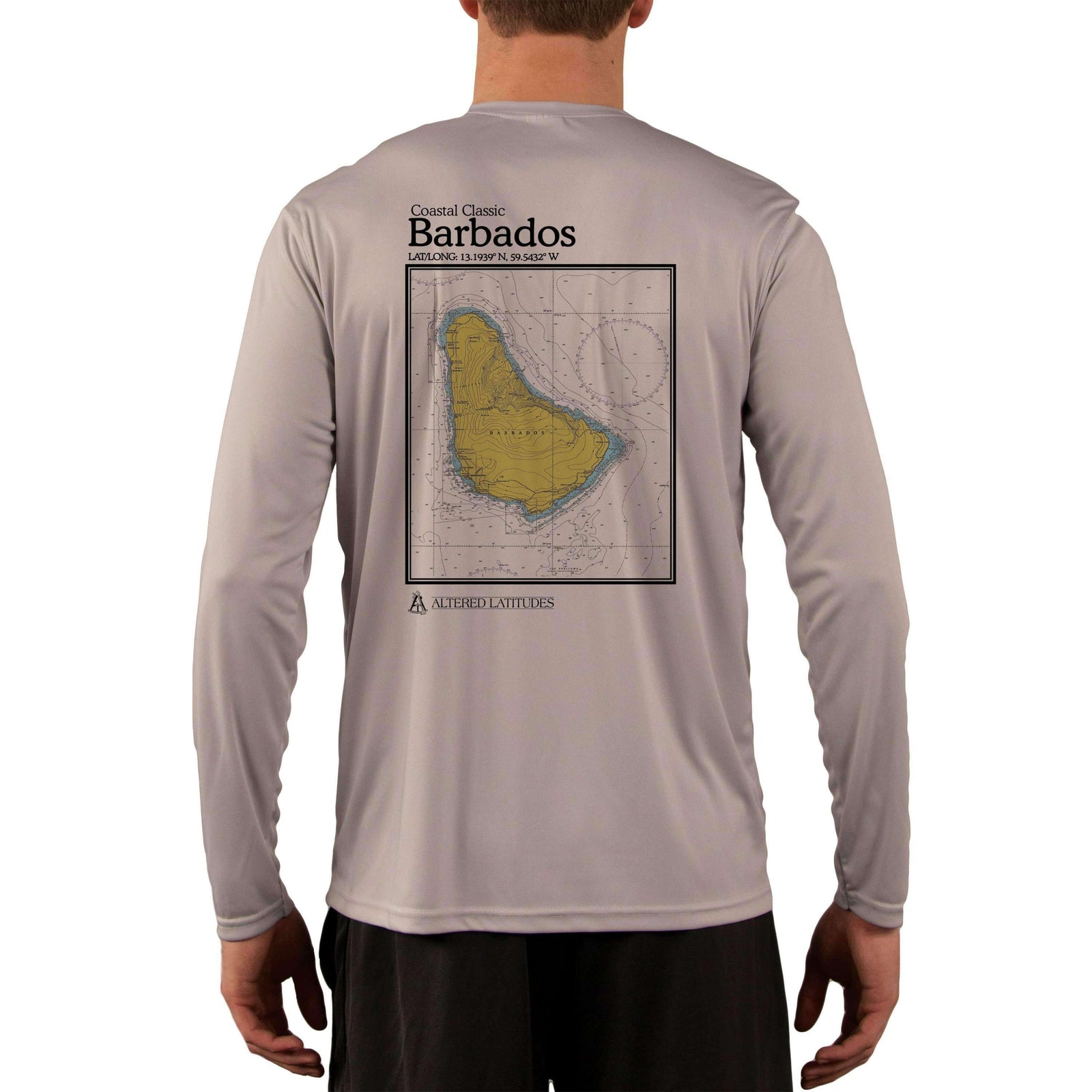 Coastal Classics Barbados Men's UPF 50+ Long Sleeve T-Shirt